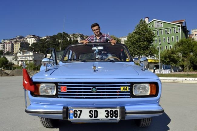 1978 model Anadol'a 20 bin lira harcadı