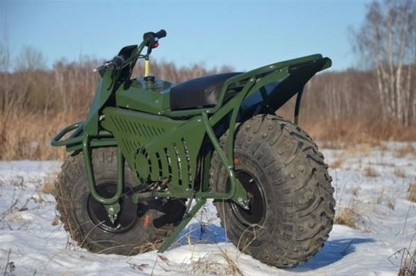 Yeni arazi motoru Taurus 2x2