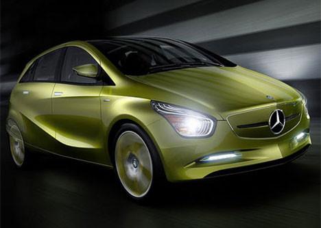 Mercedes Blue-Zero