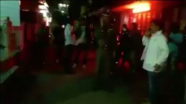 Tayland'da şoke eden patlama