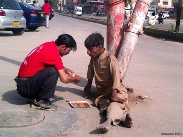 Dünyada iyiliğin varolduğunu kanıtlayan insanlar