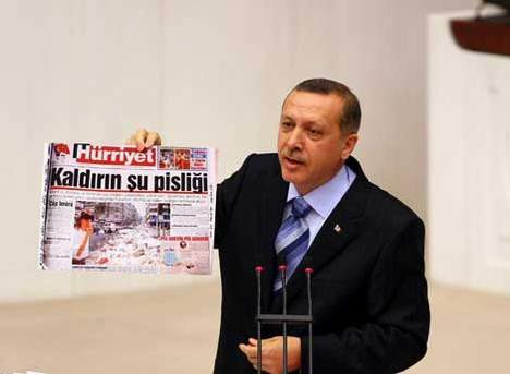 Erdoğan Baykala böyle cevap verdi