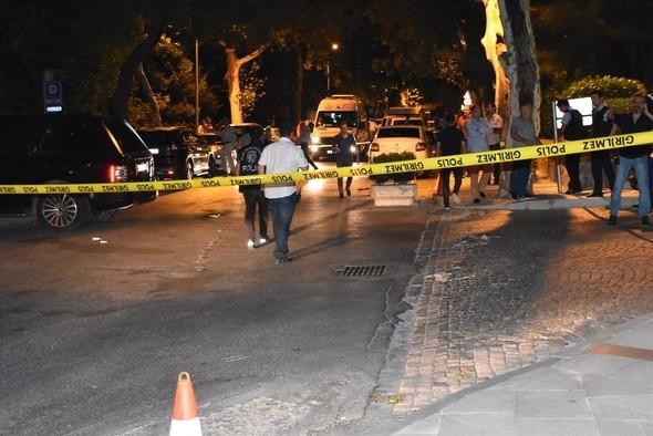 İstanbul'da lüks cipe silahlı saldırı