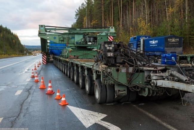 328 tonu böyle taşıdılar