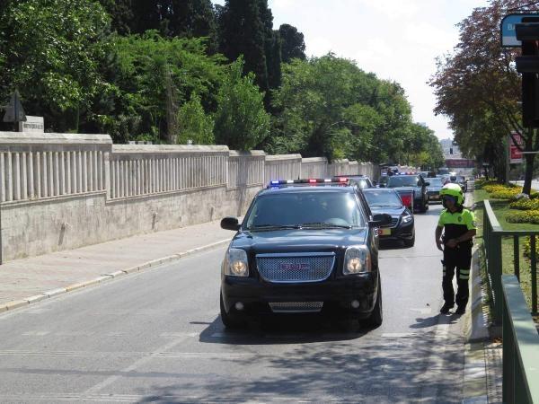 Erdoğan'a makam aracıyla koruma önlemi