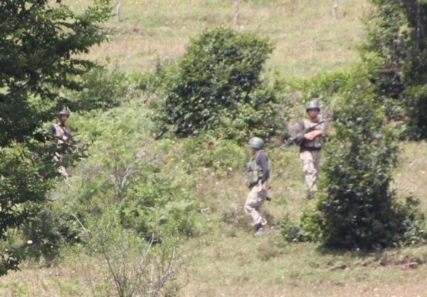 Ordu'da öldürülen PKK'lı terörist sert kayaya çarpmış !