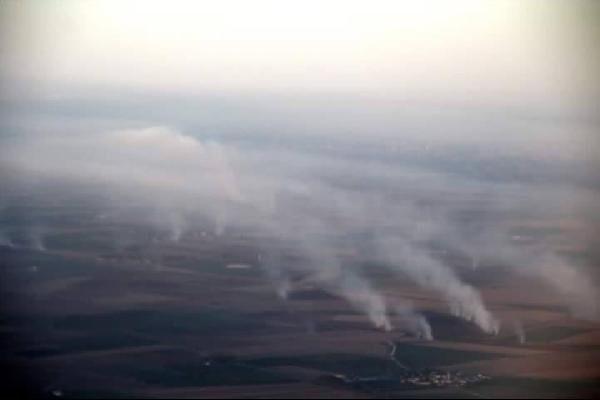 Adana duman altında kaldı !