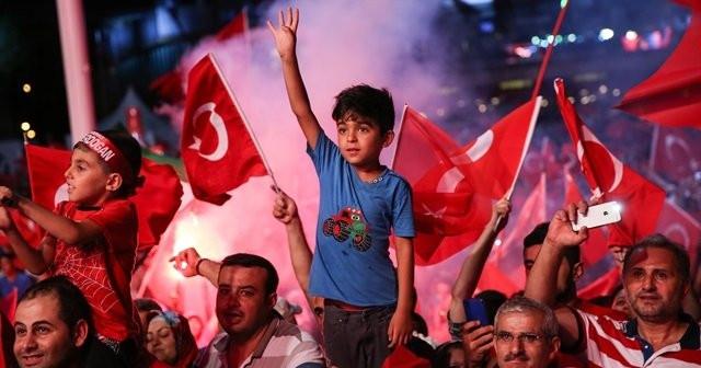 Erdoğan'a karşı güven ortalaması %85'e yükseldi