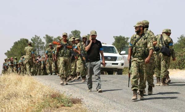ÖSO 4 köyü ele geçirdi ! 46 IŞİD'li öldürüldü