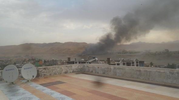 Cizre'de bomba yüklü araçla saldırı