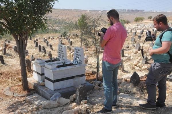 Çocuk mezarında el yapımı patlayıcı bulundu