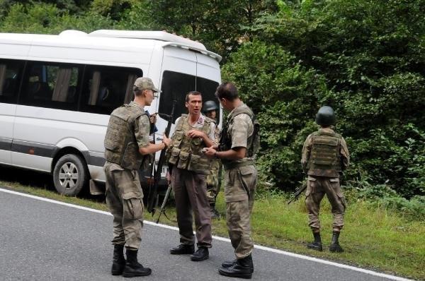 Maçkada teröristlere yönelik operasyonlar devam ediyor