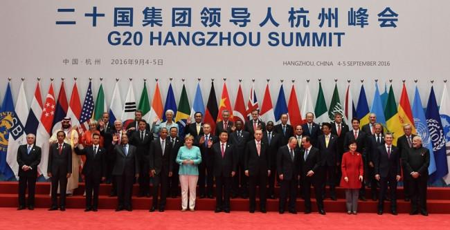 G-20 zirvesinden önemli kareler