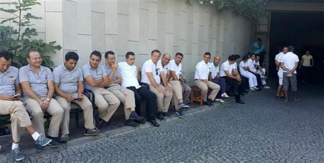 Marden Palace'ta grev