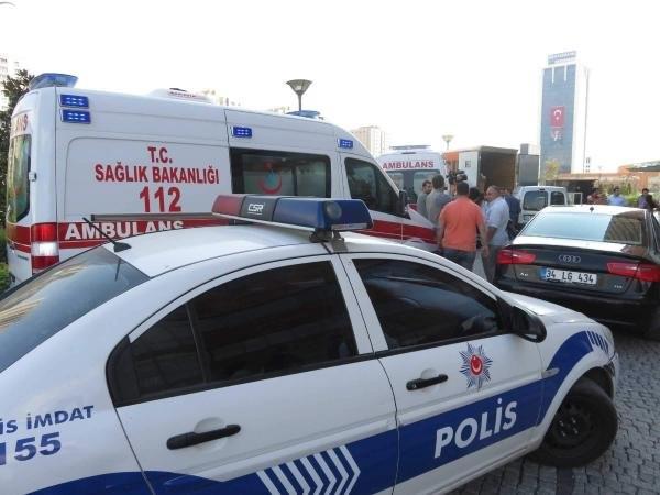 Ataşehir'de silahlı saldırı: 3 yaralı
