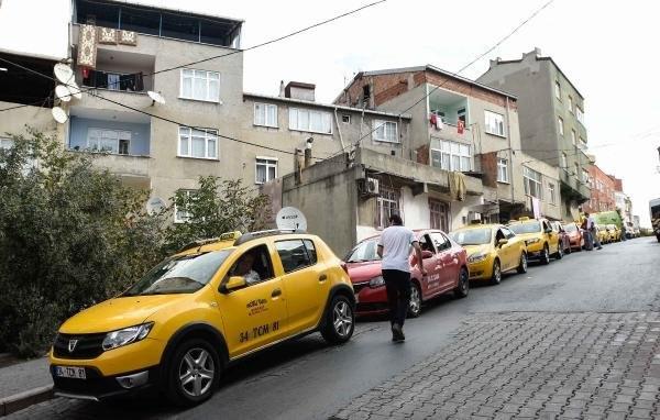 Taksicilerin 'zam' kuyruğu