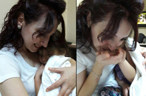 Elif 4 yıl sonra annesine kavuştu
