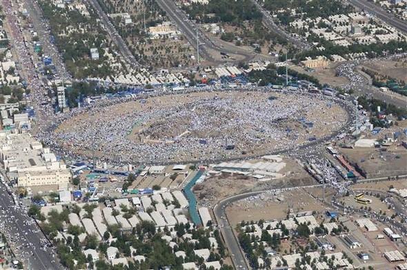 2 milyon kişi Arafat'ta