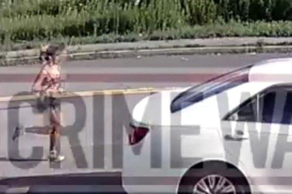 Koşuya çıkan kadın feci şekilde öldürüldü