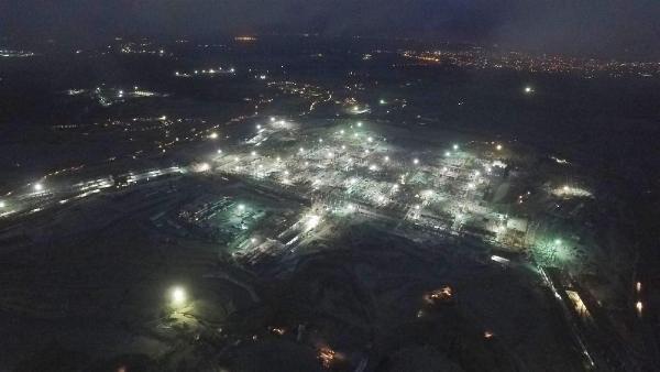 3. Havalimanı'nda çalışmalar tam gaz devam ediyor
