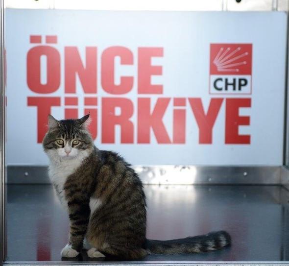 CHP'de bayramlaşmaya o da katıldı