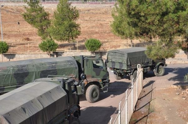 Gaziantep'e askeri sevkiyat