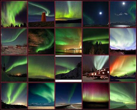 Gökte esrarengiz ışıklar