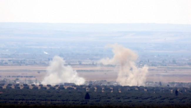 DAEŞ hedefleri tank ve uçaklarla vuruluyor