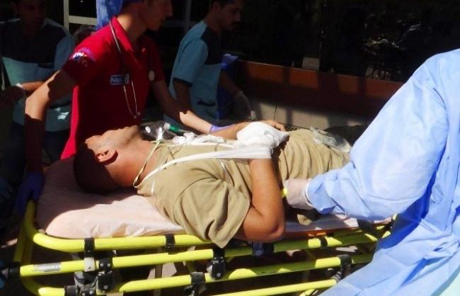 6 ÖSO ve 1 Türk askeri hastaneye kaldırıldı