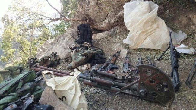 PKK'nın cephaneliği ele geçirildi !