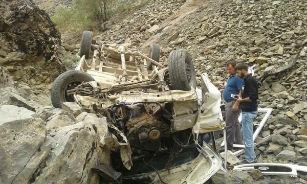 Bingöl'de minibüs şarampole yuvarlandı: 4 ölü