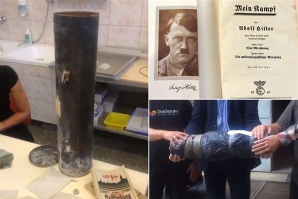 Nazilerin 'zaman kapsülü' bulundu