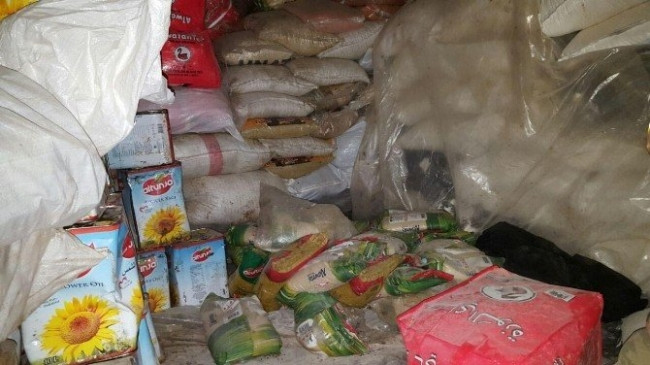 Teröristler malzeme ve mühimmatlarını bırakıp kaçıyor