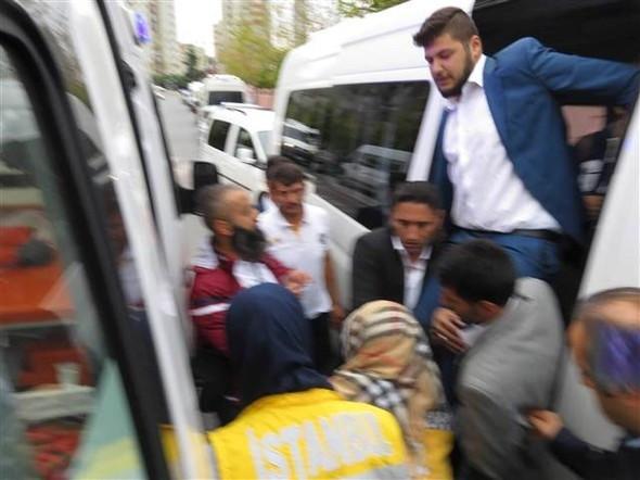Öğrenci servisi şoförleri birbirine silah çekti