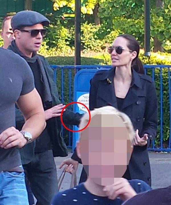 Brad Pitt ile Angelina Jolie'nin kavgası kamerada