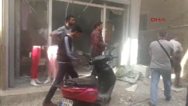 Kilis'te pazar yerine roket düştü: 5'i çocuk 6 yaralı