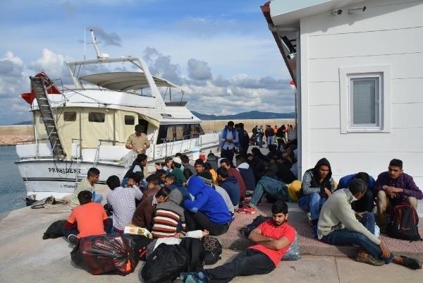 Çiller'in eski yatından 134 göçmen çıktı !