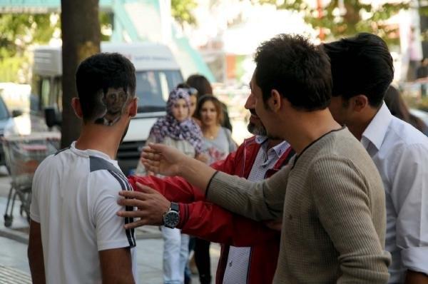 Başa, Erdoğan ve Ömer Halisdemir dövmesi moda oldu