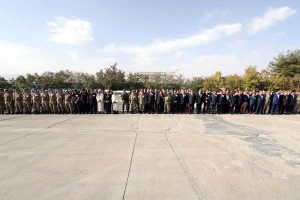 Şırnak'ta şehit düşen kahramanlara hüzünlü tören