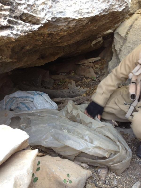Şemdinli'de PKK'nın füzeleri ele geçirildi !