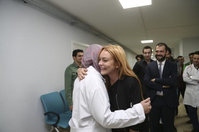 Lindsay Lohan, Cumhurbaşkanı Erdoğan'ın sözünü paylaştı