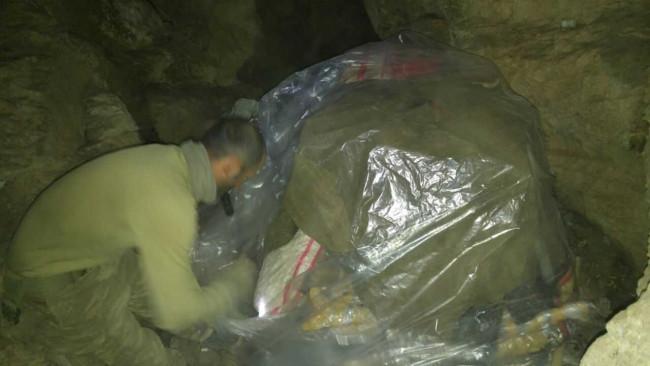 TSK paylaştı! PKK'nın tünellerine girildi