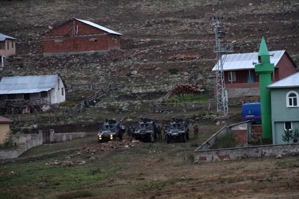 Ordu'da 6 teröristin öldürüldüğü bölgede operasyon