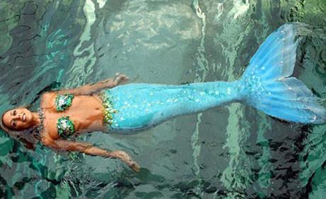 İşte deniz kızı !