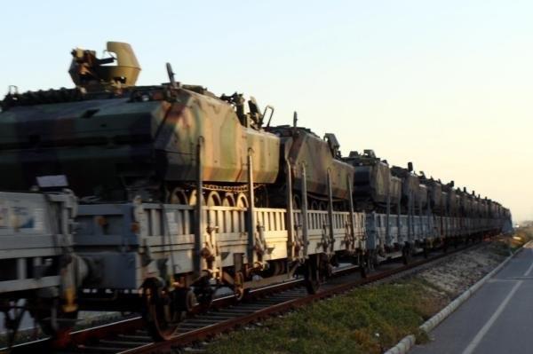 Etimesgut'taki zırhlı birlikler burdur'a gelmeye başladı