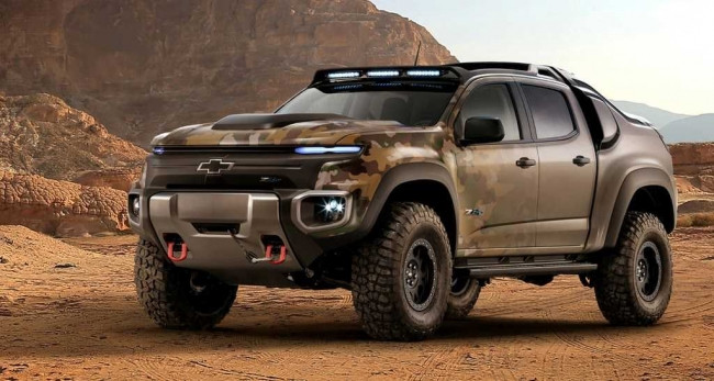 """ABD ordusu savaşta tank değil """"Chevrolet Colorado ZH2""""yi kulla"""