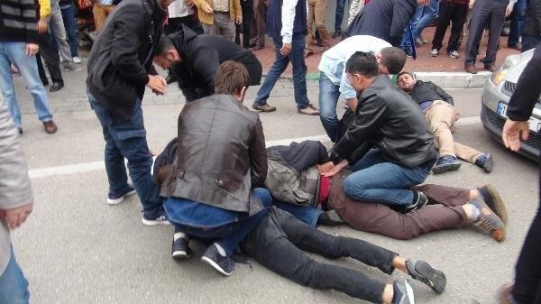 Polis 10 Ekim gösterisine izin vermedi