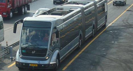 İşte gerçek metrobüsler