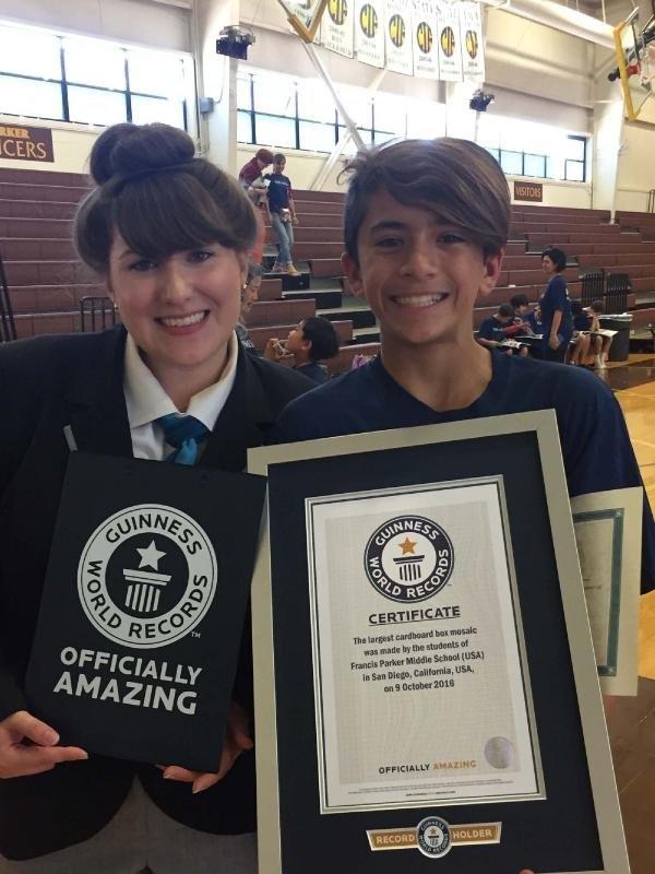 12 yaşındaki Kenan'dan ABD'de dünya rekoru