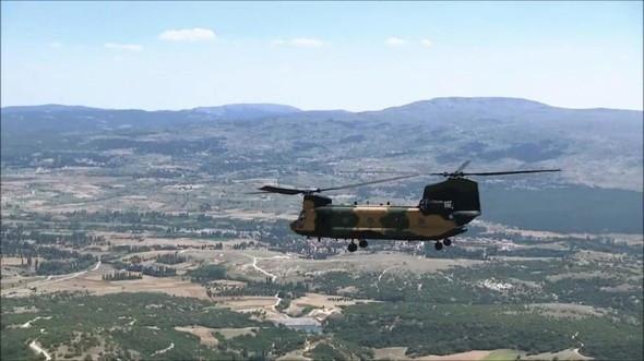 İşte TSK'nın yeni canavarı CH-47
